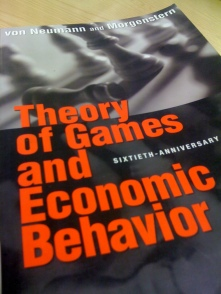 theory of games and economic behavior pdf